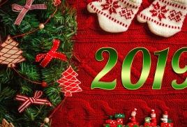 Поздравляю с Новым годом! И хочется всем пожелать, чтобы в наступающем году с нами произошло то самое чудо, о котором мы все так мечтаем. Хоть у каждого оно свое, но оно обязательно самое необходимое и самое важное. Желаю, чтобы все мы были живы и здоровы, чтобы занимались тем, что приносит нам удовольствие. Желаю достигать новых вершин и самореализовываться. А еще пожелать хочу побольше радостных моментов, которые перейдут в приятные воспоминания, и встреч с преданными друзьями и любимыми домочадцами